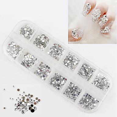 1 Κοσμήματα νυχιών Glitter & Poudre Μοντέρνα Γάμος Υψηλή ποιότητα Καθημερινά