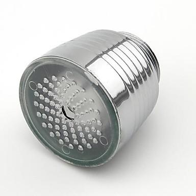 lichtgevende glow-up led water kraan douchekraan water nozzle hoofd licht badkamer keuken kranen
