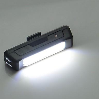 Luzes de Bicicleta Luz Frontal para Bicicleta Luz Traseira Para Bicicleta LED Ciclismo Fácil de Transportar Lumens USB Ciclismo