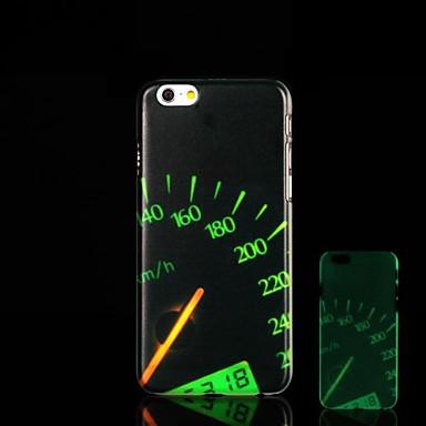 Para Capinha iPhone 6 / Capinha iPhone 6 Plus Brilha no Escuro / Estampada Capinha Capa Traseira Capinha Desenho Rígida PCiPhone 6s