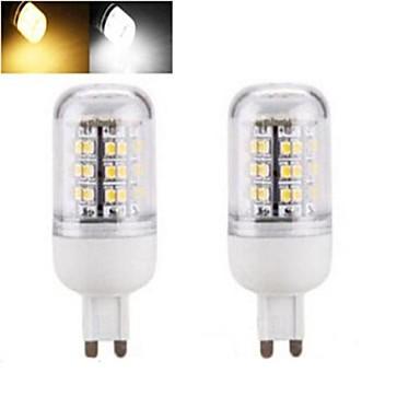 1152 lm E14 G9 E26/E27 LED-maïslampen T 48 leds SMD 3528 Warm wit Koel wit AC 220-240V
