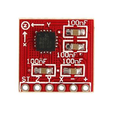 arduino için ADXL335 üçlü eksen ivme koparma geeetech