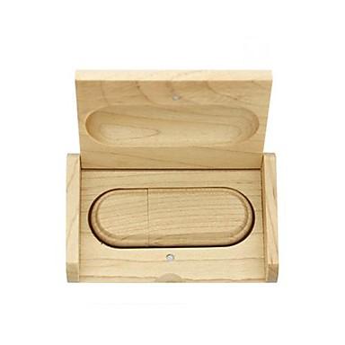 16gb usb-schijf houten usb flash pen drive