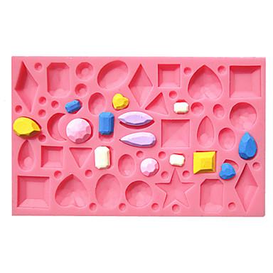 Εργαλεία ψησίματος Σιλικόνη Κέικ Καλούπια τούρτας / ψήσιμο Mold 1pc