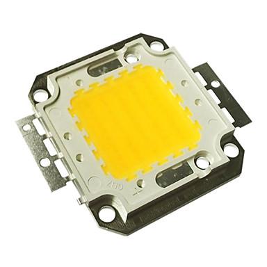 jiawen yüksek güç entegre 50w dc 30-33v alüminyum led lambalar çip ışıldak spot sıcak beyaz