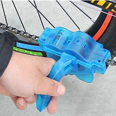 Βούρτσα καθαριμού αλυσίδων Βολικό Ποδηλασία / Ποδήλατο Πλαστική ύλη Μπλε - 1pcs