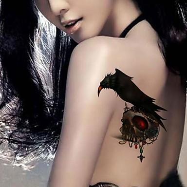 Tatoeagestickers Dieren Series Non Toxic Waterproof Baby Kind Dames Girl Heren Volwassene Boy Tiener Tijdelijke tatoeage Tijdelijke