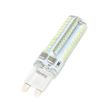 7W 550-650 lm G9 LED Corn Lights T 104 leds SMD 3014 Warm White Cold White AC 220-240V