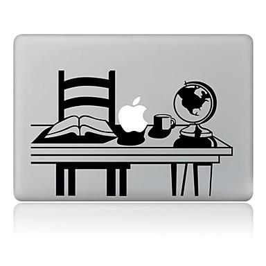 1 stuks Sticker voor Krasbestendig Spelen met Apple-logo Patroon MacBook Air 13''