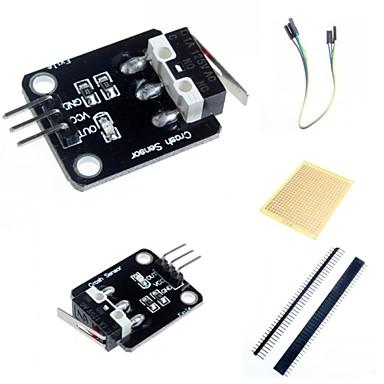 sensor de colisão robô inteligente e acessórios para arduino