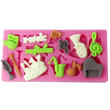 Εργαλεία ψησίματος Πλαστική ύλη Κέικ Καλούπια τούρτας 1pc