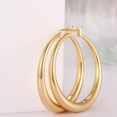 Σκουλαρίκι Κρίκοι Κοσμήματα 2pcs Γυναικεία Ασημί
