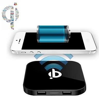 Недорогие Гаджеты для Samsung-Беспроводное зарядное устройство Телефон USB-зарядное устройство Стандарт США Евро стандарт Стандарт Великобритании Стандарт Австралии 2