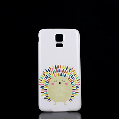 Samsung S5 I9600 - Back Cover - Grafisch/Speciaal ontwerp - Samsung mobiele telefoon Plastic)