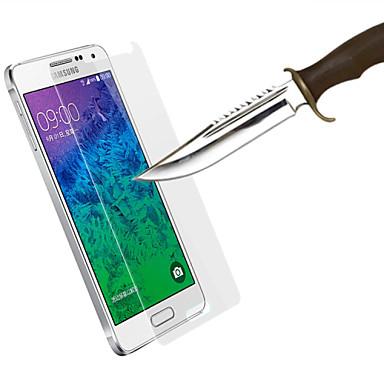 Ekran Koruyucu için Samsung Galaxy Temperli Cam Ön Ekran Koruyucu Parmak İzi Yapmayan