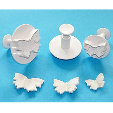 Bakeware araçları Plastik Çevre-dostu / 3D Ekmek / Kek / Çikolota Pişirme Kalıp