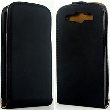 Para Samsung Galaxy Capinhas Flip Capinha Corpo Inteiro Capinha Cor Única Couro PU Samsung S3