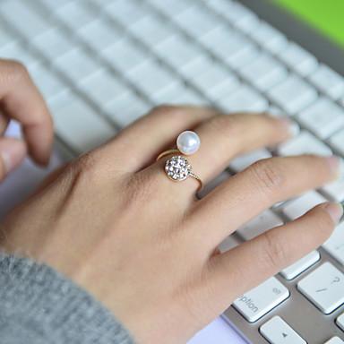 للمرأة عصابة الفرقة - اللؤلؤ, حجر الراين, تقليد الماس ترف قابل للتعديل فضي من أجل زفاف / حزب / يوميا / سبيكة