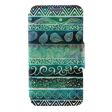 Недорогие Чехлы и кейсы для Galaxy A3-Кейс для Назначение SSamsung Galaxy A8 / A7 / A5 Бумажник для карт / со стендом / Флип Чехол Слова / выражения Кожа PU