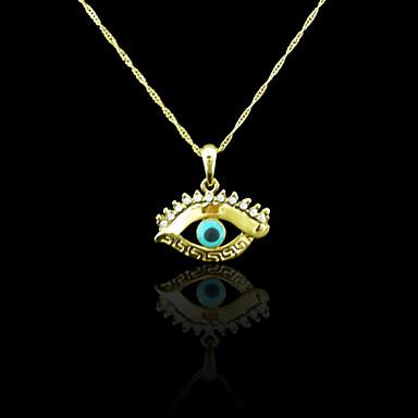 Κολιέ Κρεμαστά Κολιέ Κοσμήματα Γάμου / Πάρτι / Καθημερινά / Causal / Αθλητικά Επιχρυσωμένο Χρυσαφί 1pc Δώρο