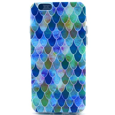 Flake Pattern TPU Soft Case for iPhone 5C