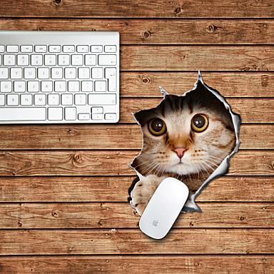 το σχέδιο γάτα διακοσμητικό ποντίκι pad mac αξεσουάρ ματιών αξεσουάρ ματιών