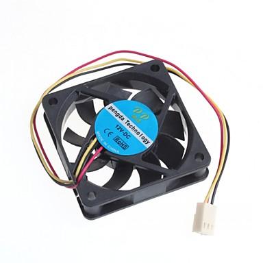 Fan 12v soğutma 6cm bilgisayar kasası