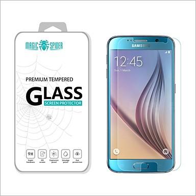 Screenprotector Samsung Galaxy voor S6 Gehard Glas Voorkant screenprotector High-Definition (HD)