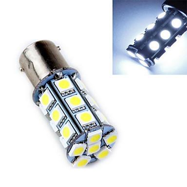 1157 Luz de Decoração 24 SMD 5050 240 lm Branco Frio 6500-7500 K Decorativa DC 12 V
