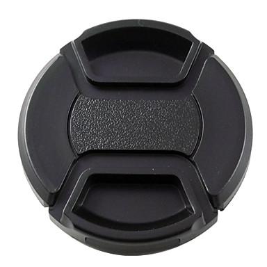mengs® 58 milímetros snap-on tampa tampa da lente com corda / trela para nikon canon e sony