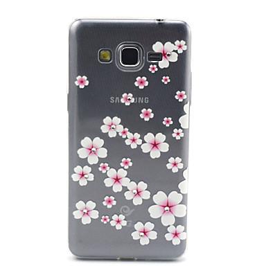 Για Samsung Galaxy Θήκη Διαφανής / Με σχέδια tok Πίσω Κάλυμμα tok Λουλούδι TPU Samsung Grand Prime