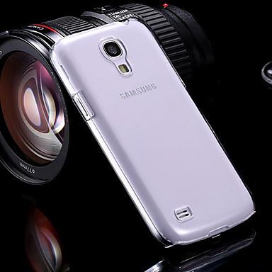 Για Samsung Galaxy Θήκη Θήκες Καλύμματα Διαφανής Πίσω Κάλυμμα tok Συμπαγές Χρώμα PC για Samsung Galaxy S4 Mini