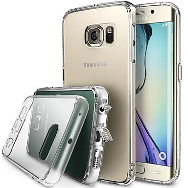 Για Samsung Galaxy Θήκη Διαφανής tok Πίσω Κάλυμμα tok Μονόχρωμη Ακρυλικό Samsung S6