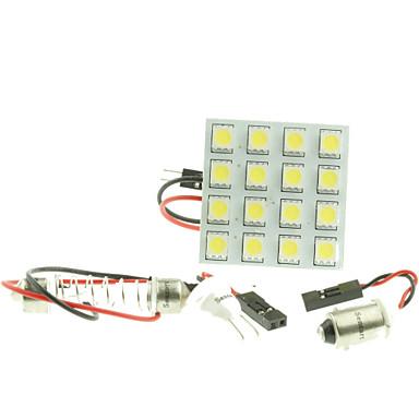 SO.K G4 / T10 / Festoon Αυτοκίνητο Λάμπες SMD 5050 / LED Υψηλής απόδοσης 160-180 lm εσωτερικά φώτα For Universal