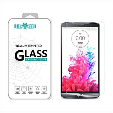 protetor de tela de vidro de protecção temperado danos à marca privada magia 2.5d spider®0.2mm para LG g3