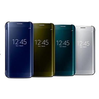 hoesje Voor Samsung Galaxy Samsung Galaxy Note Spiegel Volledig hoesje Effen Kleur PC voor Note 4