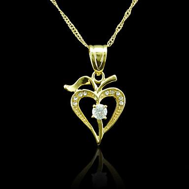 Κρεμαστά Μέταλλο / Στρας Heart Shape As Picture 1