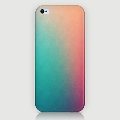 Voor iPhone 5 hoesje Hoesje cover Other Achterkantje hoesje Kleurgradatie Hard PC voor iPhone SE/5s iPhone 5