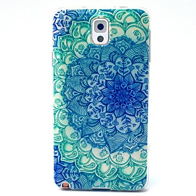 Voor Samsung Galaxy Note Patroon hoesje Achterkantje hoesje Mandala TPU Samsung Note 3