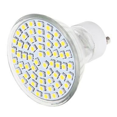 GU10 Lâmpadas de Foco de LED 1 leds SMD 3528 Branco Quente Branco Natural 570lm 3000/6000K AC 220-240V