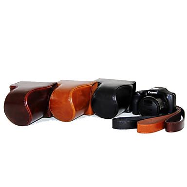 dengpin PU δέρμα δέρμα του πετρελαίου αποσπώμενο κάλυμμα της κάμερας τσάντα θήκη για Canon PowerShot hs sx530 hs sx520 (διάφορα χρώματα)