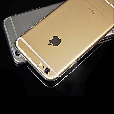caso traseiro ultrathin transparente da parte traseira do iphone 6 / 6s