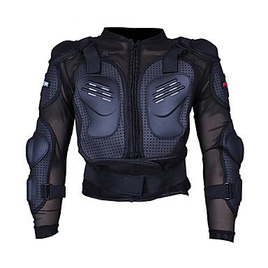 pro-motociclista p-13 motocicleta jaqueta de corrida motocross armadura de corpo cheio espinha reforçada espessamento
