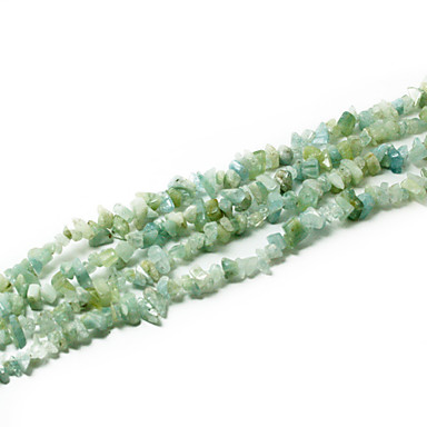 beadia aquamarijn steen kralen 5-8mm onregelmatige vorm diy losse kralen passen ketting armband sieraden 34