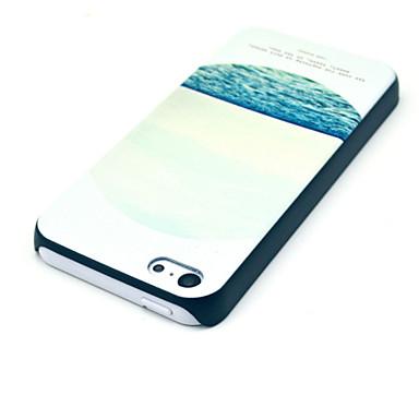 θάλασσα μοτίβο PC υλικό κελύφους και την αφή σκόνη στυλό διάταξη βραχίονα βύσμα για το iphone 5γ