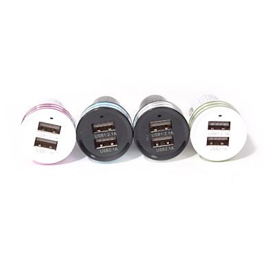 Nabíječka do auta Nabíječka USB Více portů 2 USD porty 2.1 A / 1 A DC 12V-24V pro