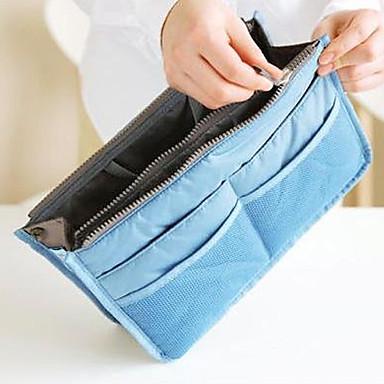 organizador de bolsas sacola de armazenamento de maquiagem organizador de forro grande bolsa de bolsa arrumada