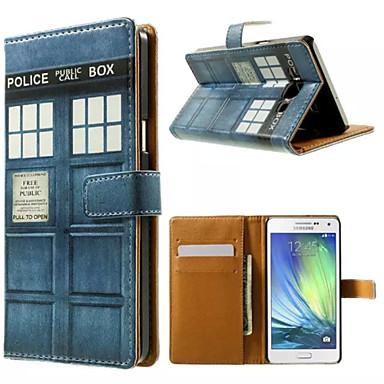 Para Samsung Galaxy Capinhas Porta-Cartão / Com Suporte / Flip / Estampada / Magnética Capinha Corpo Inteiro Capinha Desenho Couro PU