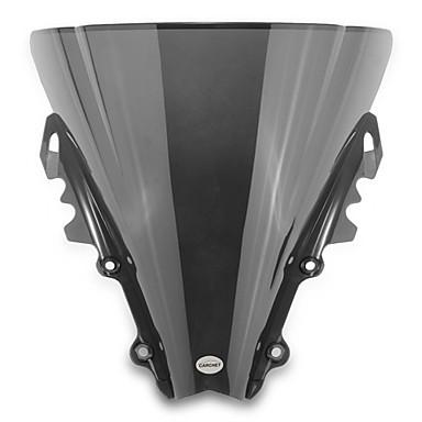 motorfiets voorruit windscherm scherm zwart voor yamaha r6 2006-2007