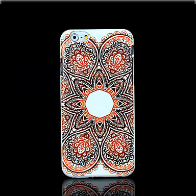 Voor iPhone 6 hoesje / iPhone 6 Plus hoesje Patroon hoesje Achterkantje hoesje Mandala Hard PC iPhone 6s Plus/6 Plus / iPhone 6s/6